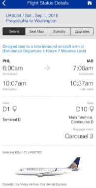 United Airlines Flight Delay