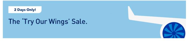 Jet Blue Fare Sale