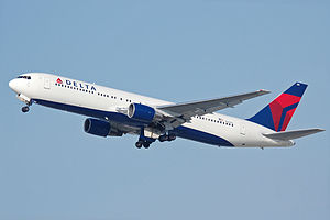 Delta Airlines 767