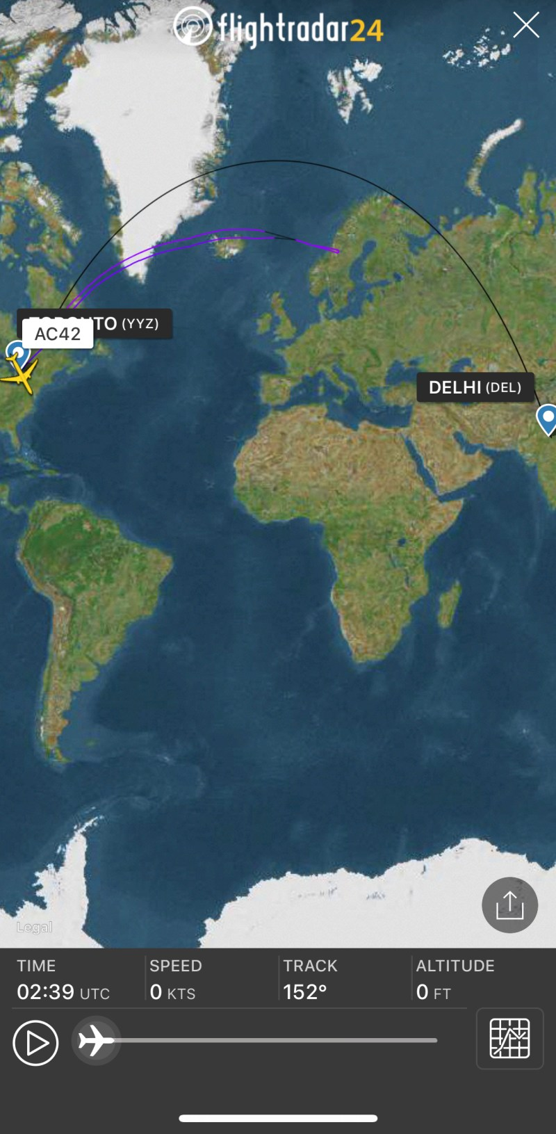 Pakistan Airspace Closure