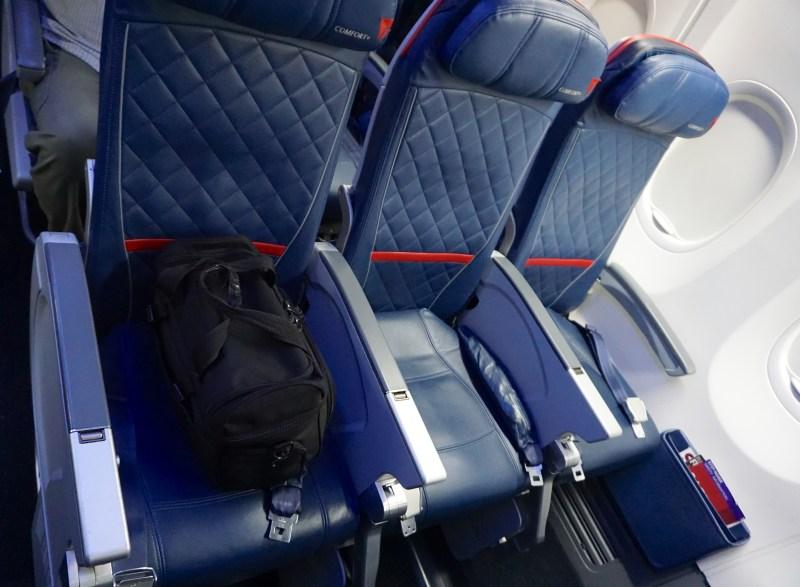 Delta A321 Economy Tampa to Atlanta