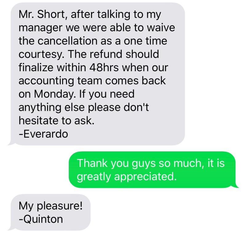 Hilton Anatole Customer Service