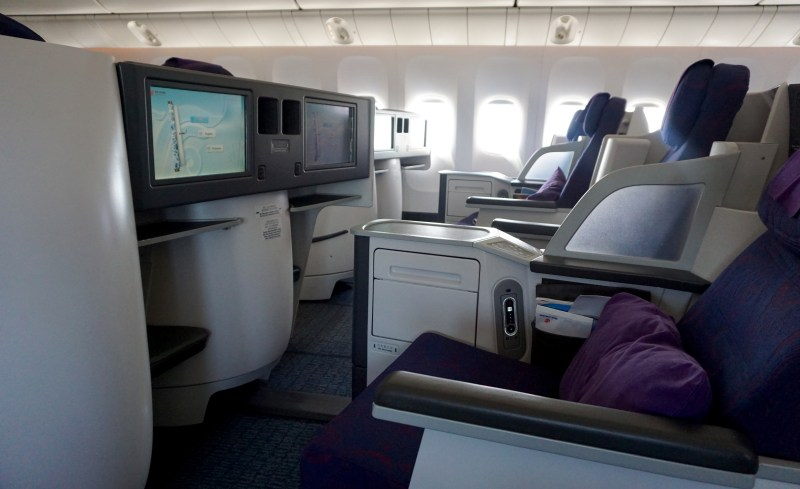 Air China 777-300 Business Class