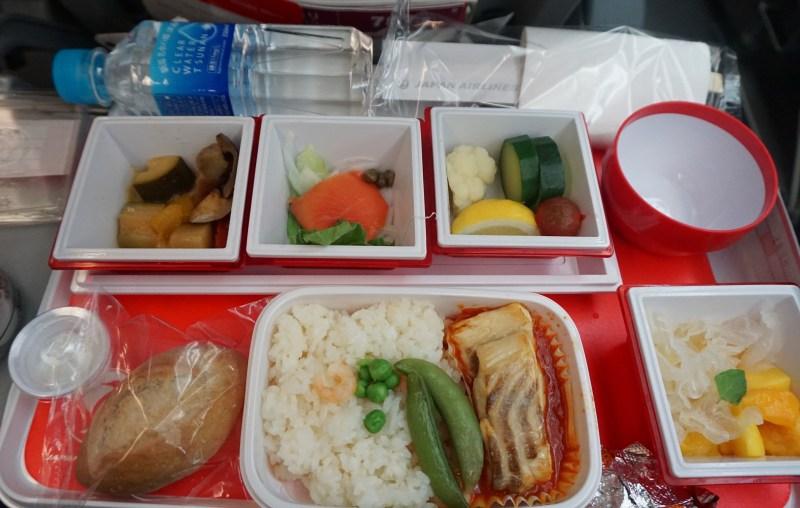 Japan Airlines 787-800 Tokyo to Bangkok
