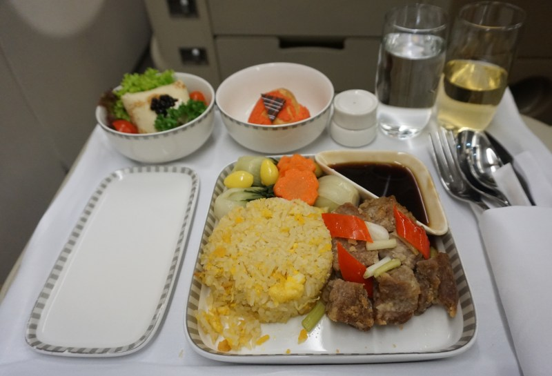 Singapore Airlines A330 Bangkok to Singapore
