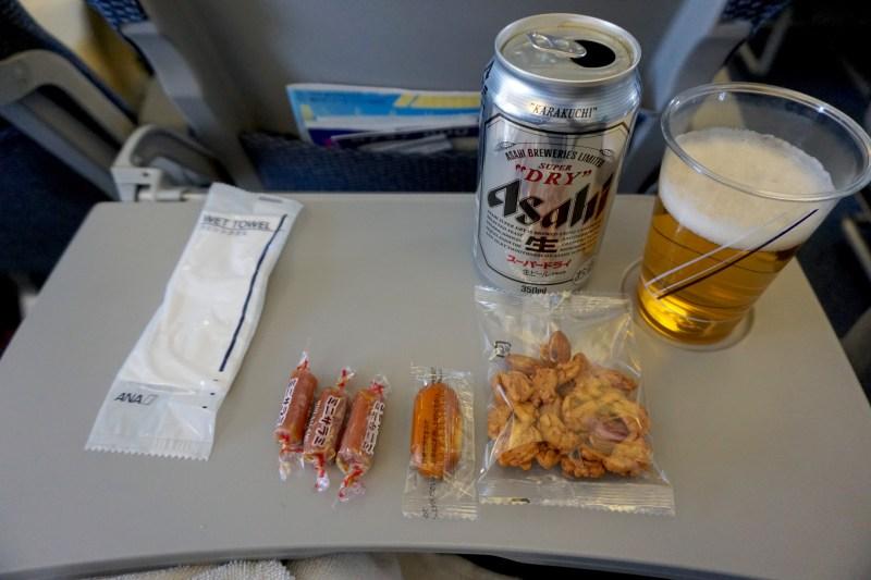 ANA 737-800 Economy Class