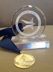 2014 trophy and medal