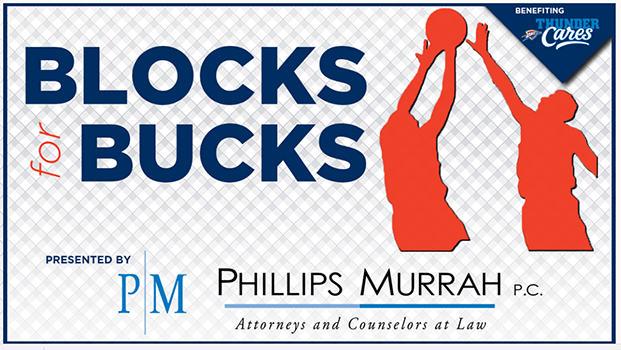 Blocks For Bucks presented by Phillips Murrah P.C.