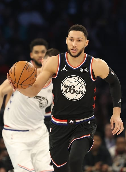 What Ben Simmons is shooting for?