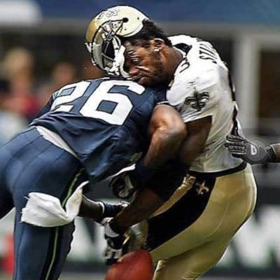 CTE in the NFL starts with this hit here