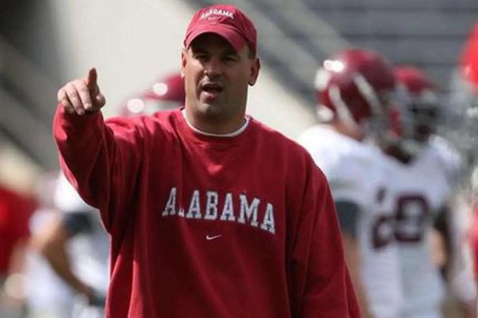 Jeremy Pruitt at Alabama