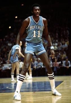 Bob McAdoo with the Braves