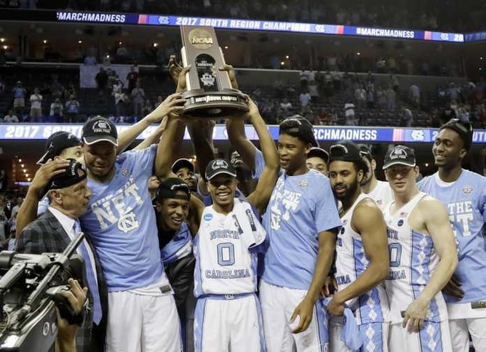 In 2017, UNC were the champions of march madness