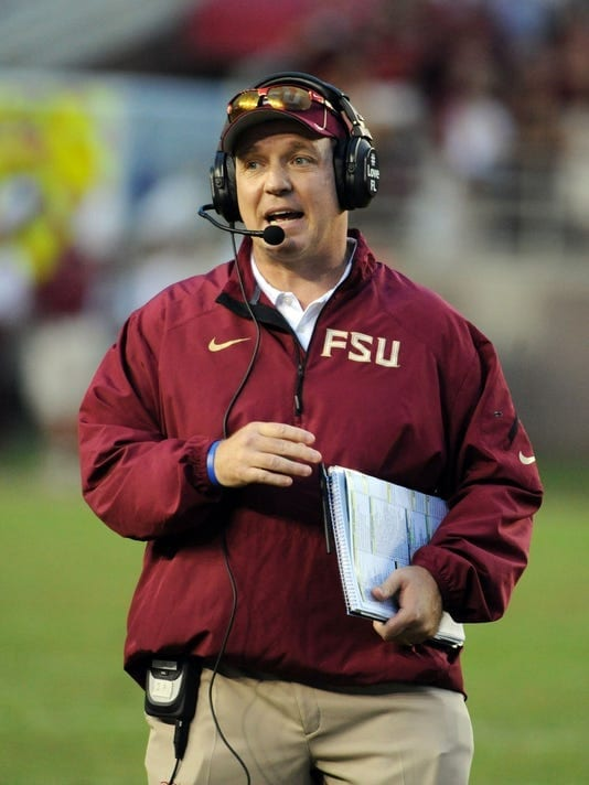 Jimbo Fisher and the Noles coaching staff coached their teams up