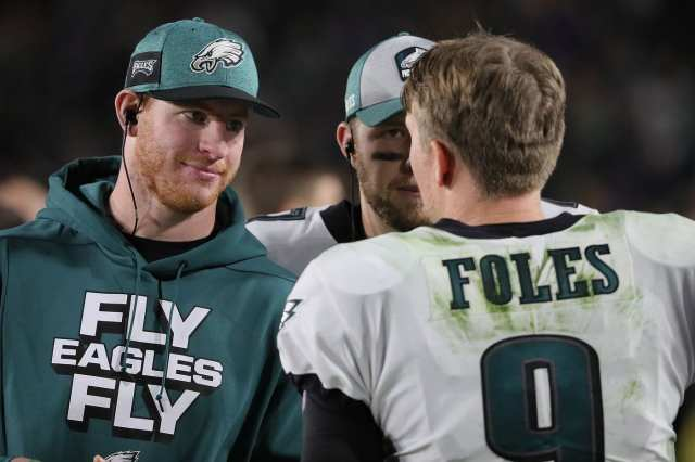 Is Wentz to blame for Birds mishaps?