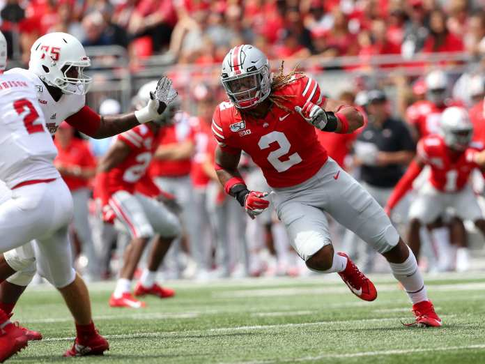 Chase Young's pass rush leading Ohio State to CFB  playoff