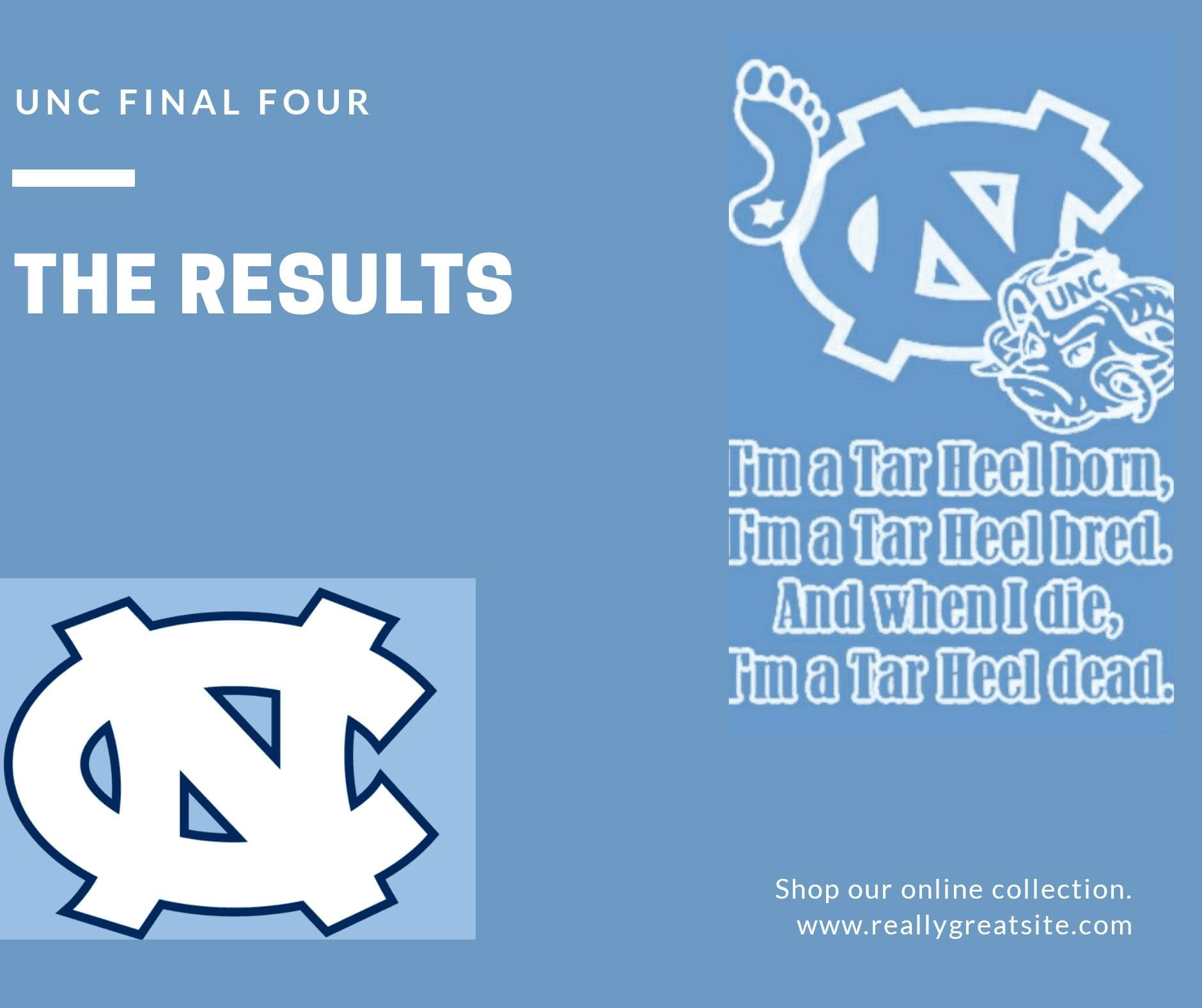 The UNC Final 4          The Results                                  All Time Starting 5 via @PhillyWhat
