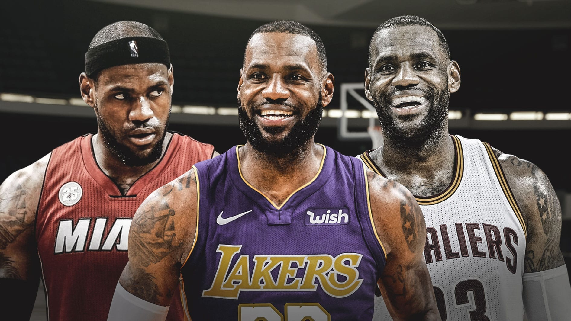 LeBron top 3 ever but isn't better than Jordan via @PhillyWhat