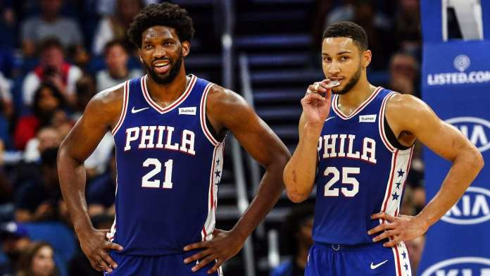 Joel Embiid and Ben Simmons willbe leading the Sixers again in 2020-21