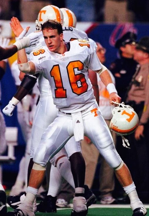 Tennessee Vols quarterback Peyton Manning