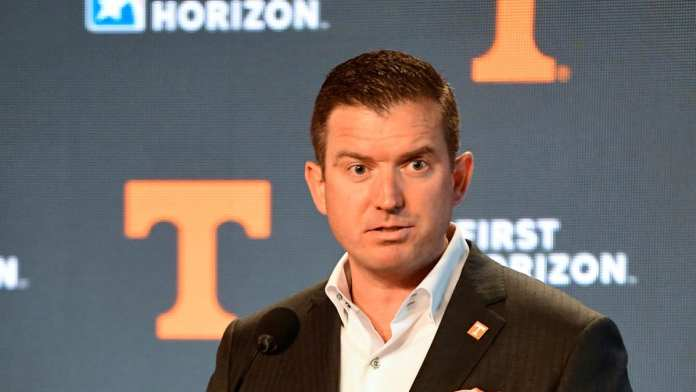 New AD Danny White hopes his head coaching hire Josh Heupel will have the Tennessee Vols recruiting machine running strong