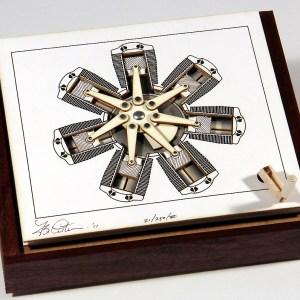 The Radial Engine MechaniCard by Brad Litwin