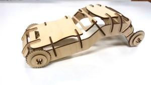 NextFab laser cut model challenge