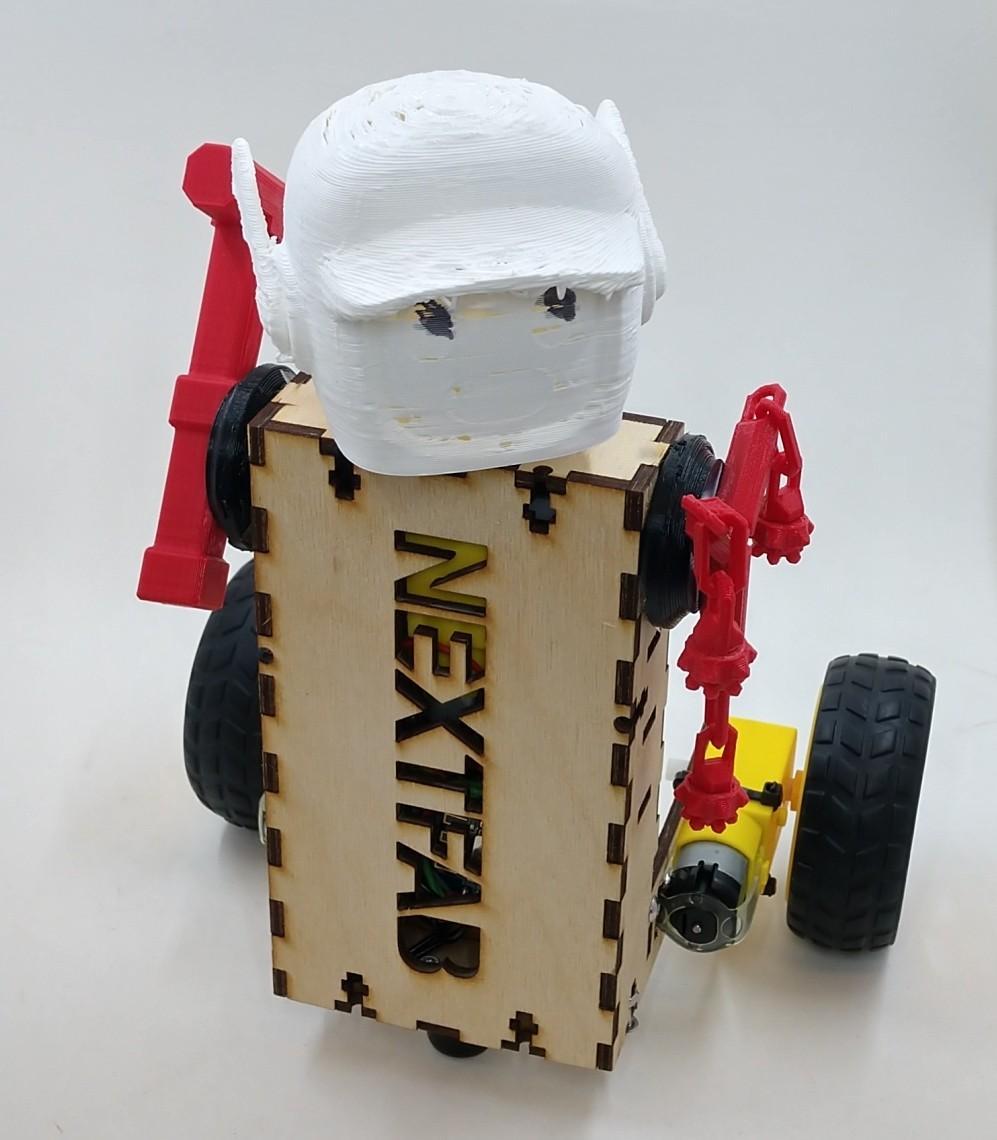 NextFab robot rumble