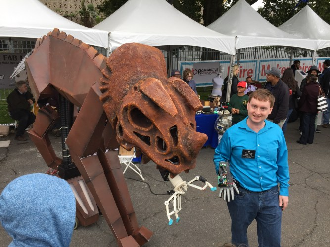 TOBOR - The Robotic Dinosaur!
