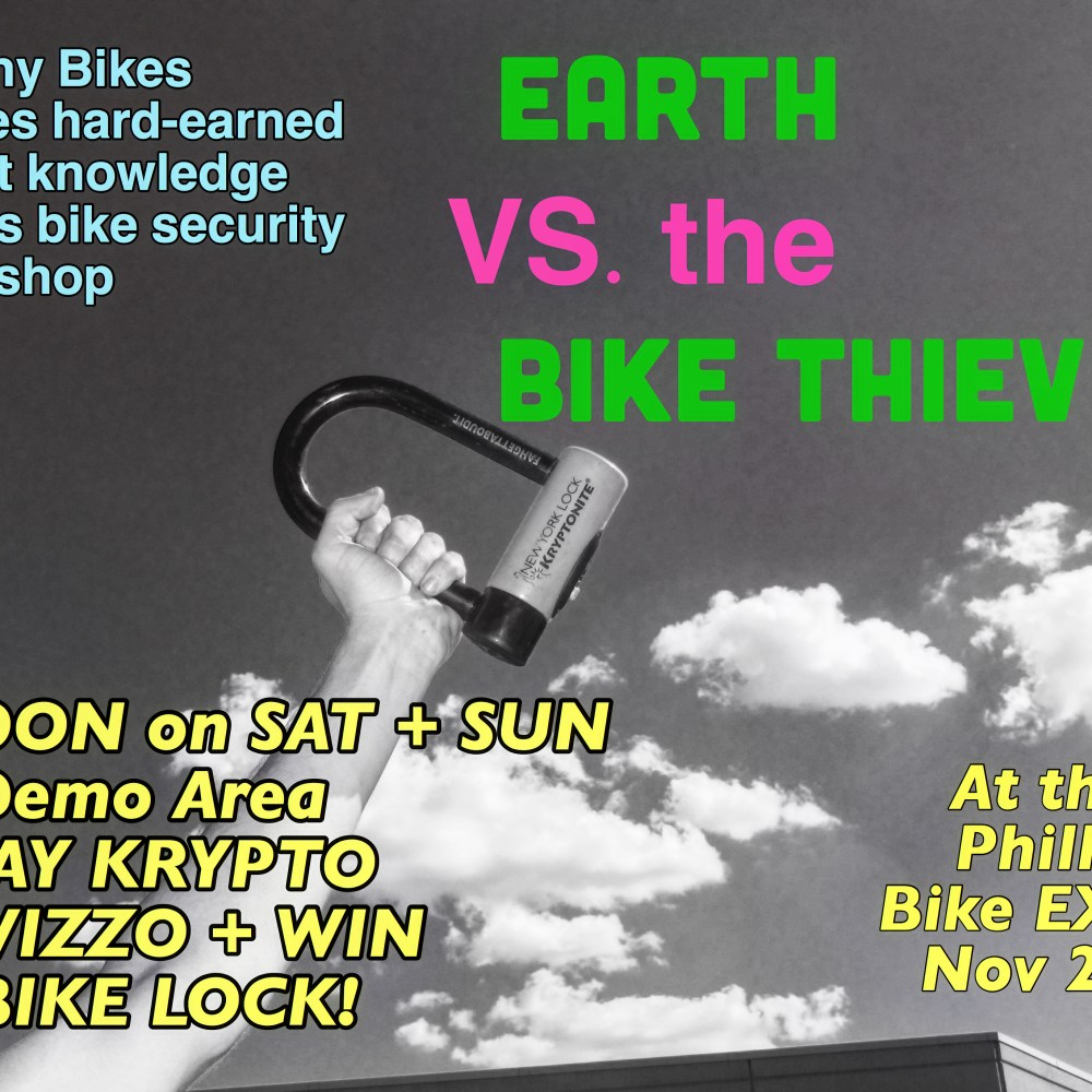 Earth vs the Bike Thieves