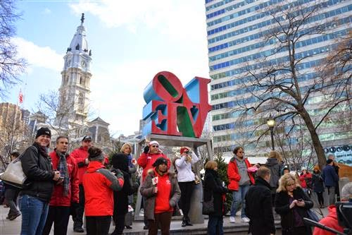 Photos: Gingerbread House Making Contest at the Christmas Village – NBC10's Keith Jones, Fox 29's Caitlin Roth and CBS3's Syma Chowdhry