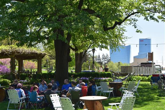 Parks On Tap Kicked Off This Weekend At Azalea Garden Aquarium Drive Kelly Behind The Philadelphia Museum Of Art And Near Boathouse Row