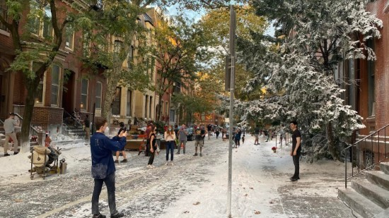 PhillyWood: Winter Wonderland on Spruce Street for Movie