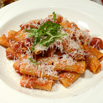 Nonna's Grilled Pasta All'Amatriciana