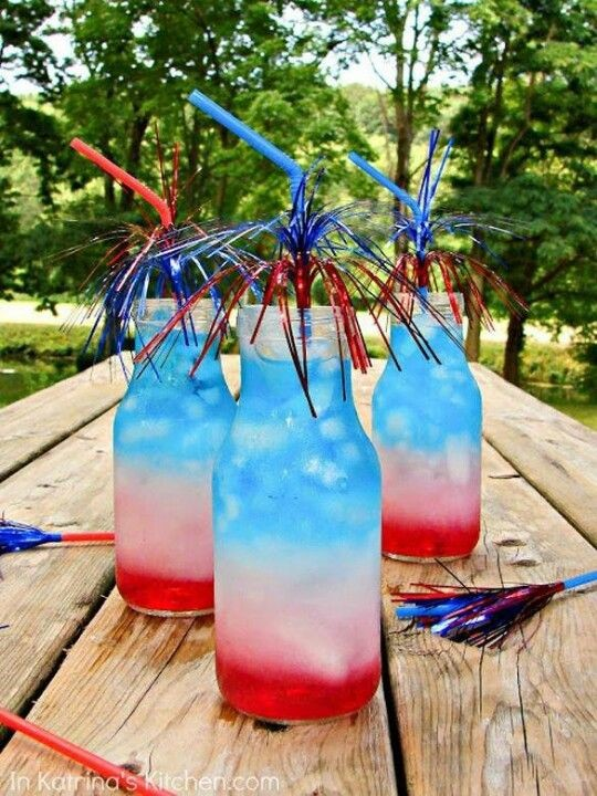4th of July cocktail