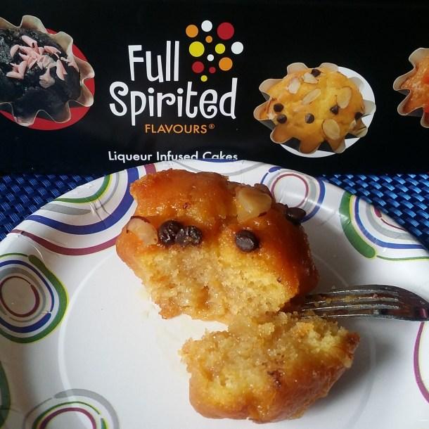 Full Spirited Flavours Amaretto Cake