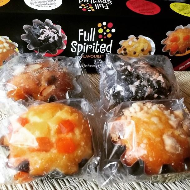 full spirited flavours junior cakes sampler