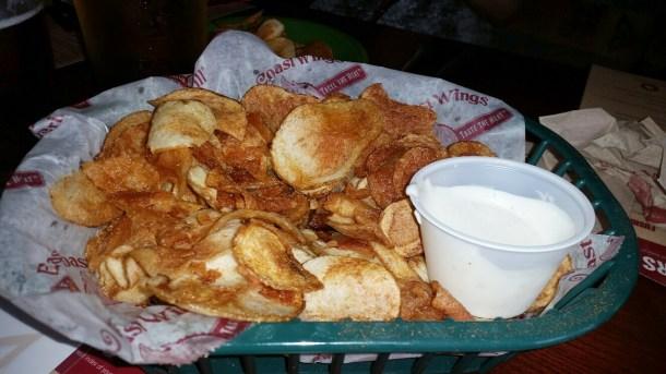 East Coast Wings Potato Chips