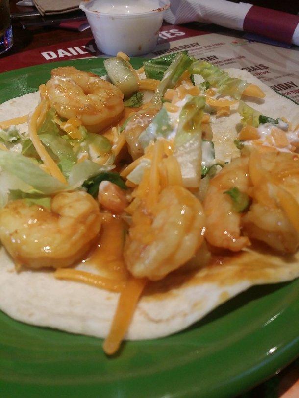 East Coast Wings Shrimp Taco
