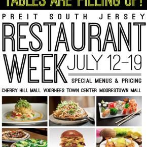 PREIT South Jersey Restaurant Week July 12-19