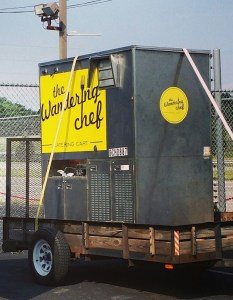 The Wandering Chef Catering Cart