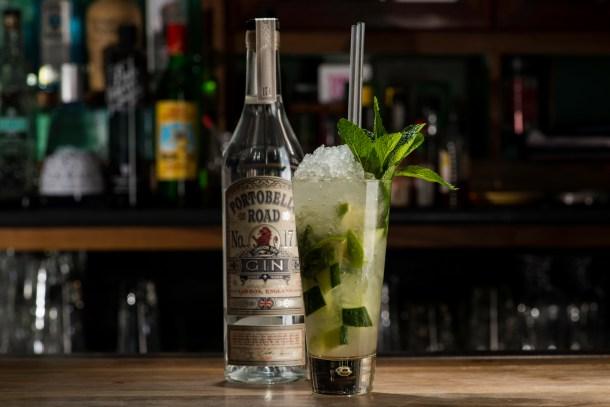 Vedge Mojito with Portobello Road Gin