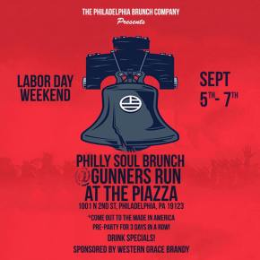 Philly Soul Brunch at Gunners Run Labor Day Weekend