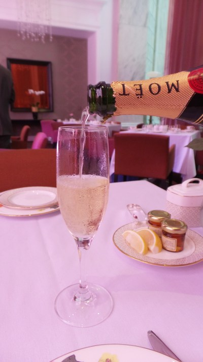 "Get the ""Royal Tea"" for unlimited champagne fills."