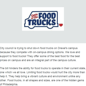 Important: Save The Drexel/UPenn Food Trucks