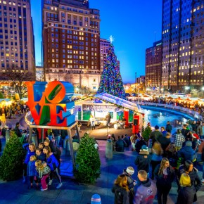 Christmas Village Returns to LOVE Park For 2015 Holiday Season