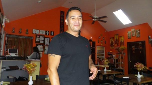 Jack Egoavil of El Tule Restaurant in Lambertville, NJ