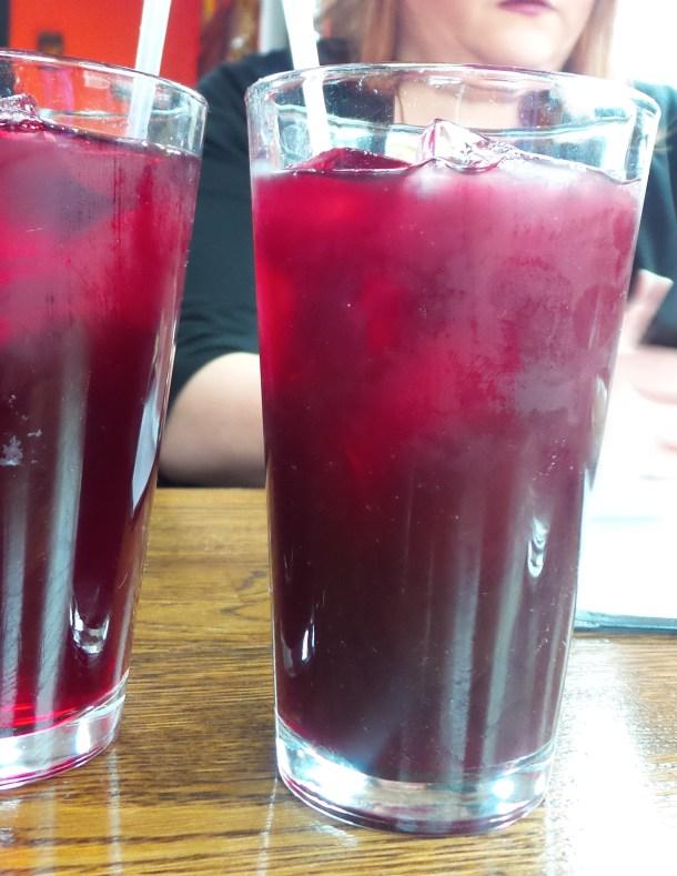 Jamaica Drink at El Tule Restaurant