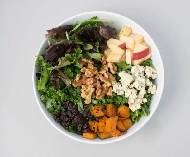Butternut + Apples Salad at sweetgreen
