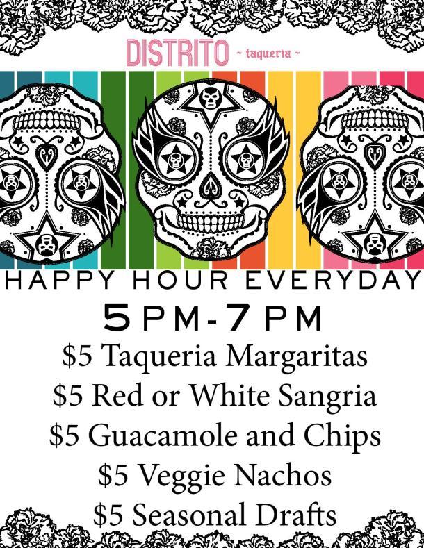 Distrito $5 Happy Hour